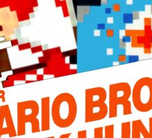 Super Mario Brothers Duck Hunt T-Shirt Sticker