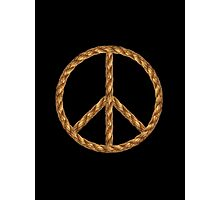 Peace,Love,Music Rope Photographic Print