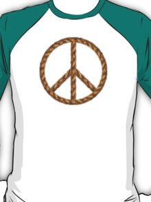 Peace,Love,Music Rope T-Shirt