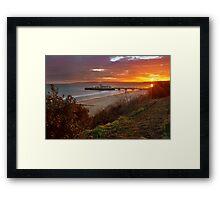 Bournemouth Pier ... Framed Print