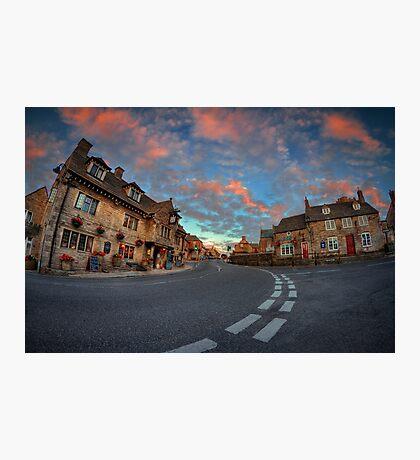 Corfe Castle Village ... Photographic Print