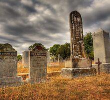 Casner Gravestones by Kim Barton