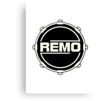 Remo in drum Canvas Print
