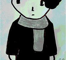 Chibi Sherlock by Mad-Hufflepuff