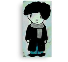 Chibi Sherlock Canvas Print