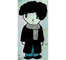 Chibi Sherlock Photographic Print