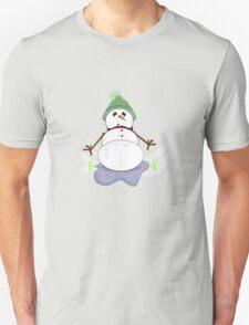 Melty snowman Unisex T-Shirt