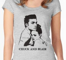 Chuck and Blair Women's Fitted Scoop T-Shirt