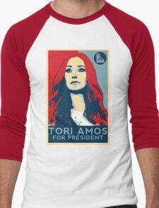Tori For President Men's Baseball ¾ T-Shirt