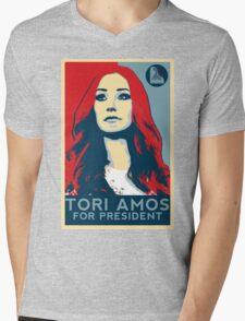 Tori For President Mens V-Neck T-Shirt