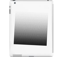 Halftone Dots Black and white. iPad Case/Skin
