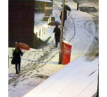 Snowy Morning! Photographic Print