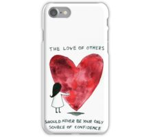 confidence iPhone Case/Skin