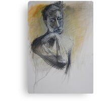 male portrait Canvas Print