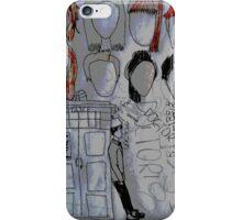 The Doctor's memories  iPhone Case/Skin