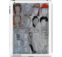 The Doctor's memories  iPad Case/Skin