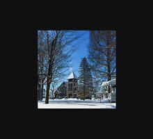 Winter in the Village Unisex T-Shirt