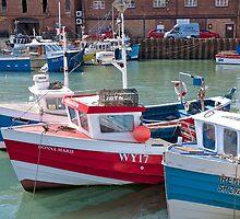 Fishing Boats by John (Mike)  Dobson