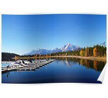The Grand Tetons - Wyoming USA Poster