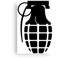 Liberty Grenade Canvas Print