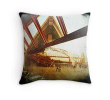 sydney icons Throw Pillow