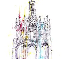 Chichester Cross by sophiecowdrey