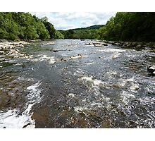 River Wharfe (View Downstream From Aysgarth Falls) Photographic Print