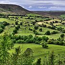 """""""Distant Views Over North Yorkshire Hills"""" by Bradley Shawn  Rabon"""