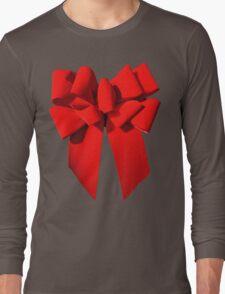 Big Red Bow Tee Long Sleeve T-Shirt