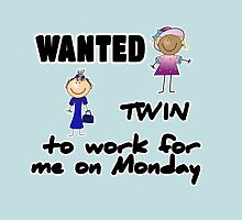 wanted twin ... - girls by Fran E.