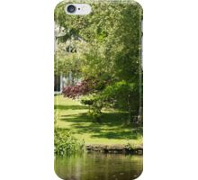Tranquil Country House Retreat iPhone Case/Skin