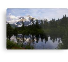 mt shuksan over picture lake, wa, usa Metal Print