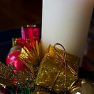 Christmas candle by Andrew (ark photograhy art)