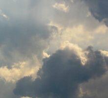 clouds Sticker