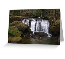 beautiful whatcom falls Greeting Card