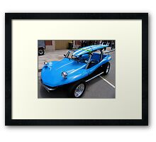 Beach Buggy Blues Framed Print