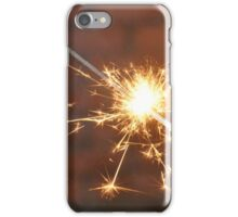 Celebrate With a Sparkler! iPhone Case/Skin