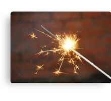 Celebrate With a Sparkler! Canvas Print