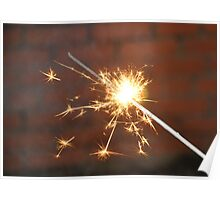 Celebrate With a Sparkler! Poster