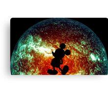 The Illusive Mouse Canvas Print