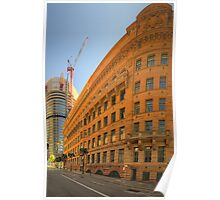 Around The Corner - Department of Education Building - The HDR Experience Poster