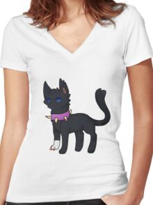 Scourge Chibi Women's Fitted V-Neck T-Shirt