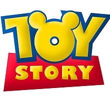 3D Toy Story Logo with Ears by KrazyArtz