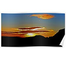 Mojave Sunset Dos Poster