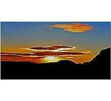 Mojave Sunset Dos Photographic Print