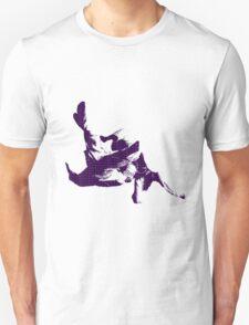 Judo Throw in Gi 3 purple  Unisex T-Shirt