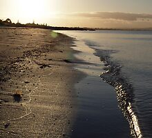 Sunset near Busselton, south-west WA by binkih