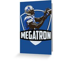 Calvin Johnson - Megatron - Detroit Lions Greeting Card