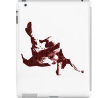 Judo Throw in Gi 3 Red  iPad Case/Skin