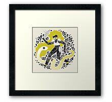 The Serpent Knight Framed Print